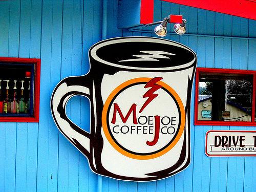 café fachada